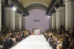 a 39th semana de moda ucraniana em Kyiv Fotografia de Stock Royalty Free