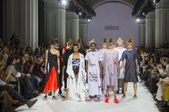 a 39th semana de moda ucraniana em Kyiv Imagem de Stock
