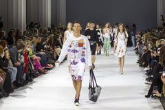 a 39th semana de moda ucraniana em Kyiv Foto de Stock Royalty Free