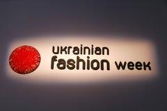 a 39th semana de moda ucraniana em Kyiv Imagens de Stock