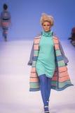 A 38th semana de moda ucraniana em Kyiv, Ucrânia Fotografia de Stock Royalty Free