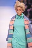 A 38th semana de moda ucraniana em Kyiv, Ucrânia Imagens de Stock Royalty Free