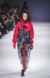 A 38th semana de moda ucraniana em Kyiv, Ucrânia Fotografia de Stock