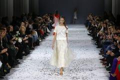a 39th semana de moda ucraniana em Kyiv, Ucrânia Foto de Stock