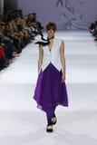 a 39th semana de moda ucraniana em Kyiv, Ucrânia Fotografia de Stock