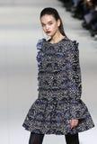 a 40th semana de moda ucraniana em Kyiv, Ucrânia Fotos de Stock Royalty Free