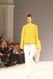 a 40th semana de moda ucraniana em Kyiv, Ucrânia Imagem de Stock Royalty Free