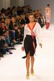 a 39th semana de moda ucraniana Etiqueta uma da coleção Foto de Stock Royalty Free
