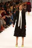 a 39th semana de moda ucraniana Etiqueta uma da coleção Imagem de Stock Royalty Free