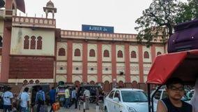 05th September 2015 Ajmer Rail station, Rajasthan, India. September 2015 stock image
