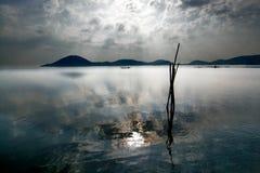 Silhouette landscape at ramble odisha india