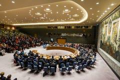 72th session de l'Assemblée générale de l'ONU à New York Images libres de droits
