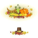 Th_sgivingD-02. Illustration for the Thanksgiving holiday on a white background Stock Images