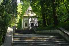 Th. shrine along the stair route to the Bom Jesus do Monte, Braga, Royalty Free Stock Photos