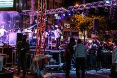 30th Sierpniowy Turecki zwycięstwo dnia koncert Zdjęcia Royalty Free