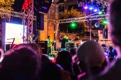 30th Sierpniowy Turecki zwycięstwo dnia koncert Obraz Royalty Free