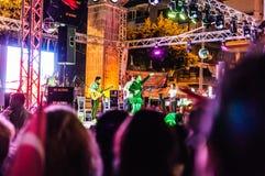 30th Sierpniowy Turecki zwycięstwo dnia koncert Obrazy Royalty Free