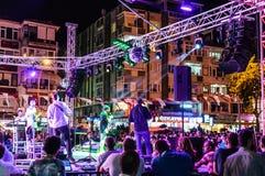 30th Sierpniowy Turecki zwycięstwo dnia koncert Fotografia Royalty Free