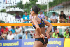 27th South East Asian Beach Volleyball Championship. Royalty Free Stock Photo