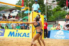 27th South East Asian Beach Volleyball Championship. Royalty Free Stock Photos