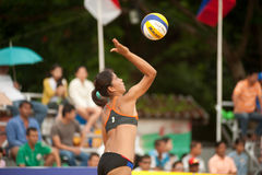 27th South East Asian Beach Volleyball Championship. Stock Images