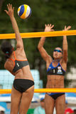 27th South East Asian Beach Volleyball Championship. Stock Photography