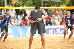 27th South East Asian Beach Volleyball Championship. Stock Photo