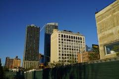 34th St - Hudson jardów stacja metru 13 Fotografia Stock