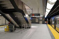 34th St - Hudson jardów stacja metru 29 Zdjęcia Royalty Free