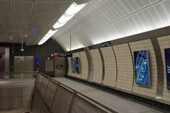 34th St - Hudson jardów stacja metru 33 Fotografia Stock