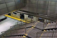 34th St - Hudson jardów stacja metru 36 Zdjęcia Royalty Free