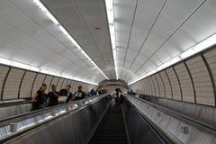 34th St - Hudson jardów stacja metru 37 Zdjęcie Stock