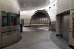 34th St - Hudson jardów stacja metru 38 Obraz Royalty Free