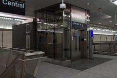 34th St - Hudson jardów stacja metru 56 Zdjęcia Stock