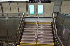 34th St - Hudson jardów stacja metru 57 Obrazy Royalty Free