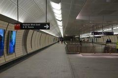 34th St - Hudson jardów stacja metru 59 Obraz Royalty Free