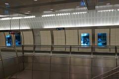 34th St - Hudson jardów stacja metru 63 Obraz Royalty Free