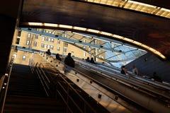 34th St - Hudson jardów stacja metru 81 Obraz Stock