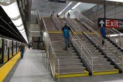 34th St - Hudson jardów stacja metru 82 Fotografia Stock