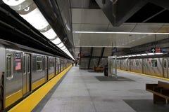34th St - Hudson jardów stacja metru 83 Obrazy Stock