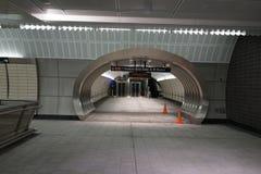 34th St - Hudson Yards Subway Station 62 Arkivfoton