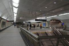 34th St - Hudson Yards Subway Station 10 Stock Photos