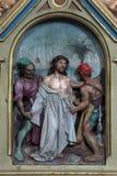 10th stacje krzyż Obrazy Royalty Free