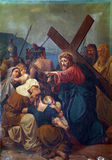8th Stations of the Cross Stock Photography