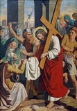 6th Stations of the Cross Royalty Free Stock Images