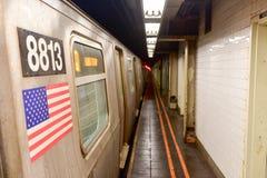 57th Streen gångtunnelstation - Manhatan, New York Royaltyfria Foton