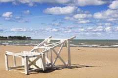 57th Street Beach (Chicago) Stock Images