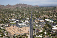 44th Street & Camelback Road Royalty Free Stock Photography