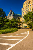 90th Street in Central Park, Manhattan, New York. Royalty Free Stock Photo