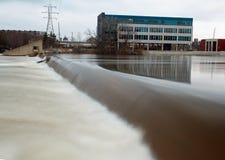 6th Street Dam Grand Rapids Stock Photography